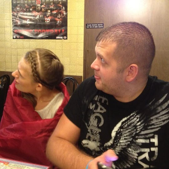 Photo taken at Waffle House by Jason P. on 8/18/2012