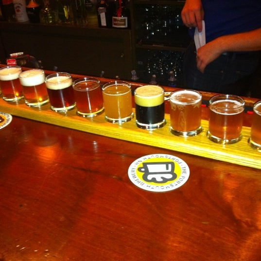 Photo taken at Portsmouth Brewery by Peter F. on 6/27/2012