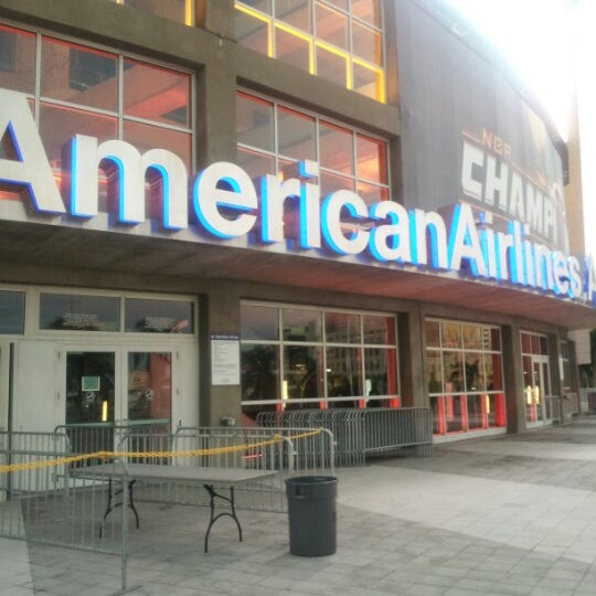Photo taken at American Airlines Arena by Jerrell T. on 9/8/2012