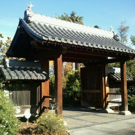 Photo taken at Japanese Friendship Garden by Diana H. on 12/4/2011