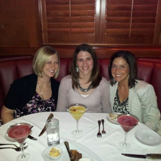 Photo taken at Fleming's Prime Steakhouse & Wine Bar by Chris W. on 4/13/2012