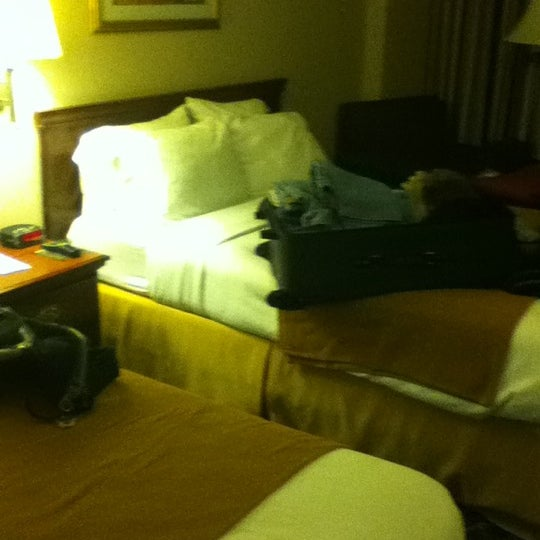 Photo taken at Holiday Inn Express by Brian T. on 4/23/2011