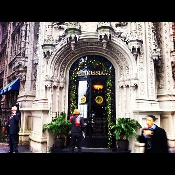 Petrossian Cafe New York