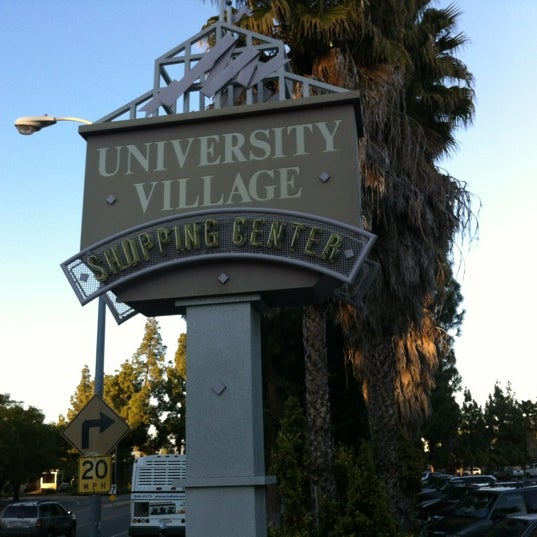 Los Angeles Mall: University Village Shopping Center (Now Closed)