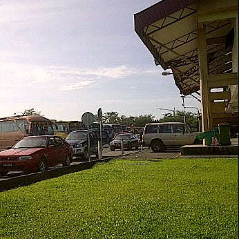 Photo taken at Kuching Bus Terminal by Lynn M. on 11/16/2011