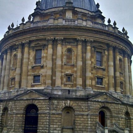 Photo taken at Radcliffe Camera by Balazs S. on 8/17/2011