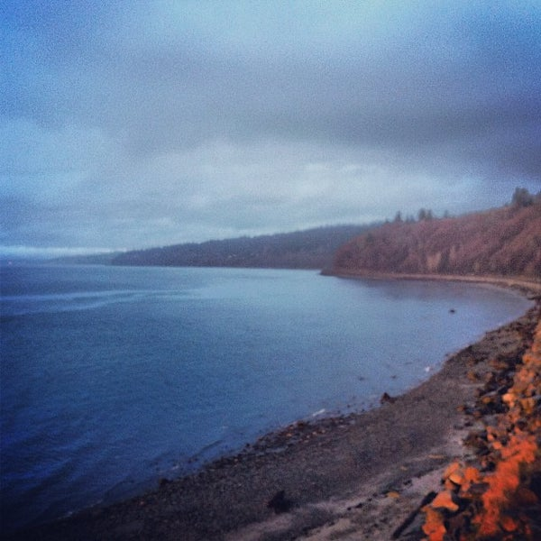 Photo taken at Carkeek Park by GB B. on 2/19/2012