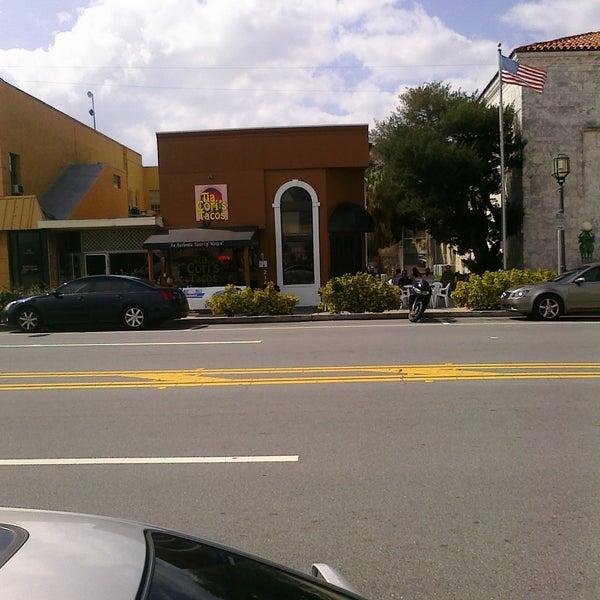 Photo taken at Tia Cori's Tacos by aaron on 2/17/2011