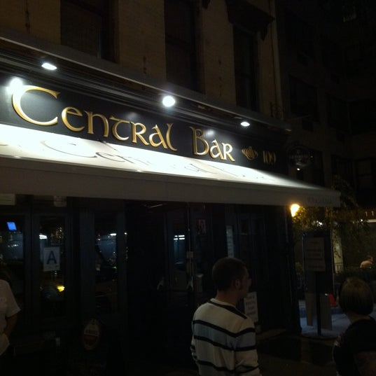 Photo taken at Central Bar by Christopher S. on 10/8/2011