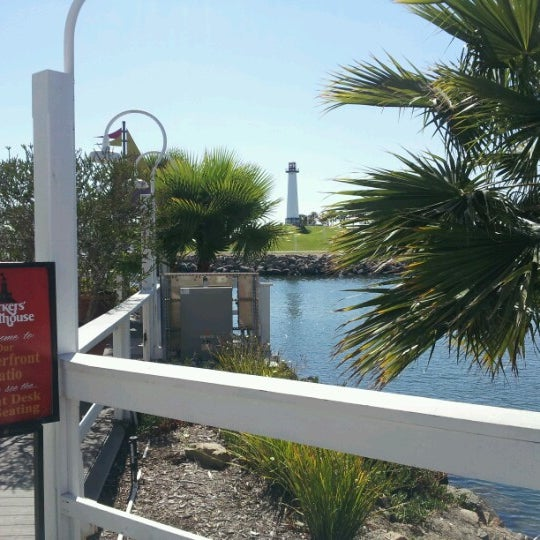 Photo taken at Parkers' Lighthouse by Tomi on 6/18/2012