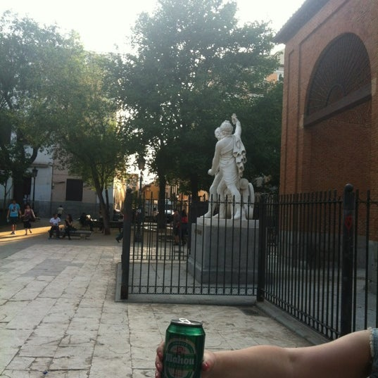Photo taken at Plaza del Dos de Mayo by Patricia G. on 5/31/2012