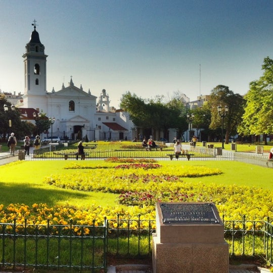 Photo taken at Plaza Francia by Federico R. on 10/24/2011