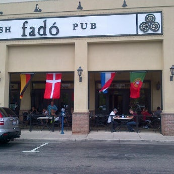 Photo taken at Fado Irish Pub & Restaurant by Nuno B. on 6/17/2012