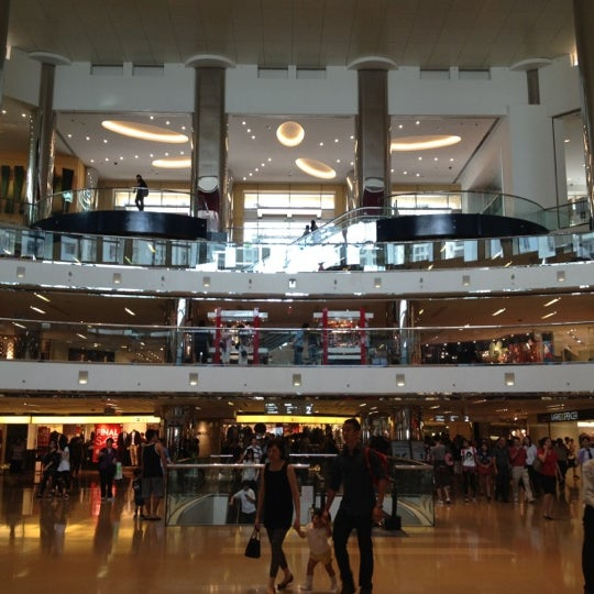 New Town Plaza Food Court In Hong Kong: Shopping Mall