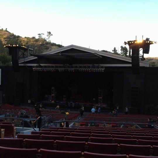 Photo taken at The Greek Theatre by Jordan B. on 6/9/2012
