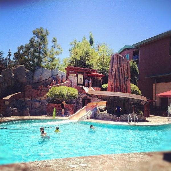Pool disney 39 s grand californian hotel spa the - Grand menseng hotel swimming pool ...