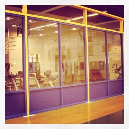 Photo taken at Pace University Gym by David B. on 2/13/2012