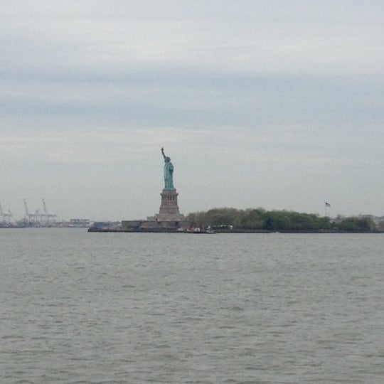 Photo taken at New York Harbor by Marcella L. on 4/26/2012