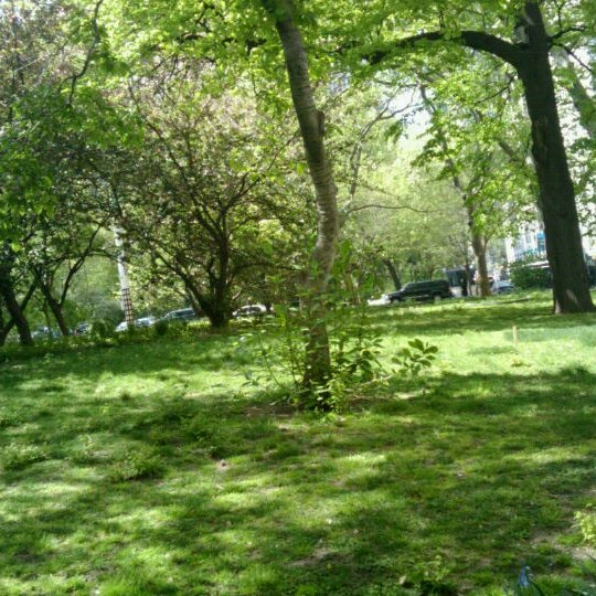 Photo taken at City Hall Park by Ronni on 4/20/2012