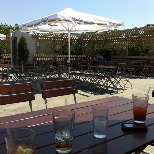 Yummy Bloody Marys and love the rooftop bar for Sunday Funday in the summer.
