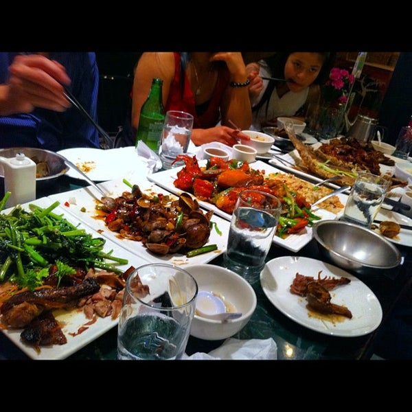 Photo taken at Sang Kee Peking Duck House by Mike T. on 6/18/2012