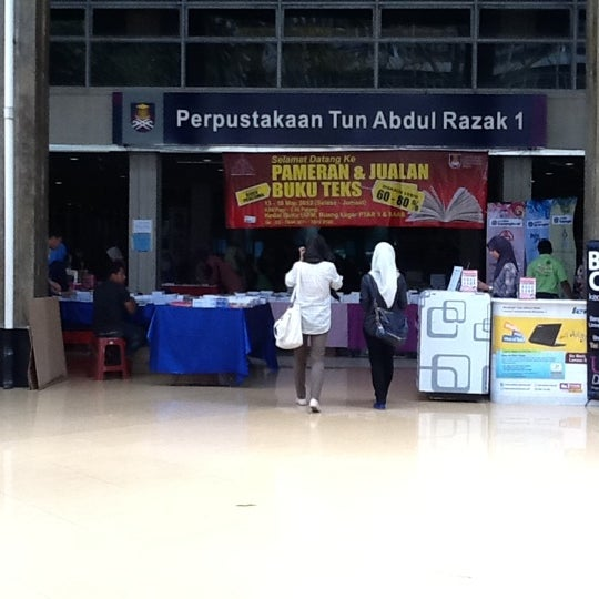 Perpustakaan Tun Abdul Razak PTAR Jalan Ilmu 1 1 UiTM