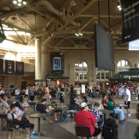 Photo taken at MBTA South Station by Wes M. on 8/31/2012