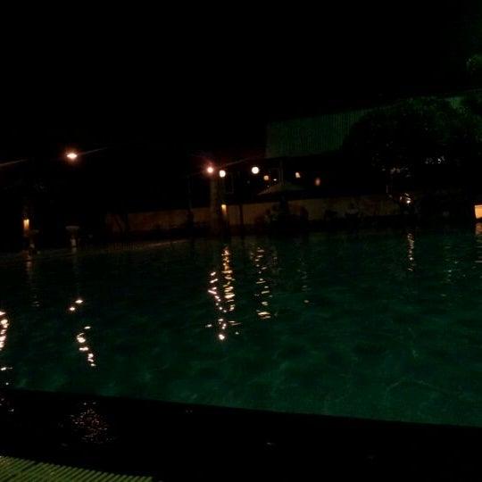 Photo taken at Graha Residence Swimming Pool by Eko S. on 1/1/2012
