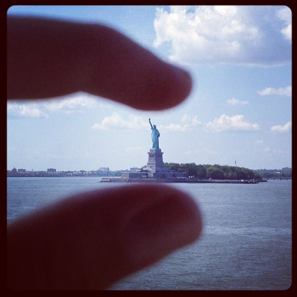 Photo taken at New York Harbor by Marcus on 8/16/2012