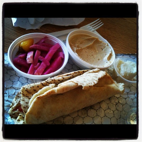 Photo taken at Zankou Chicken by Aimee💗 on 3/20/2012