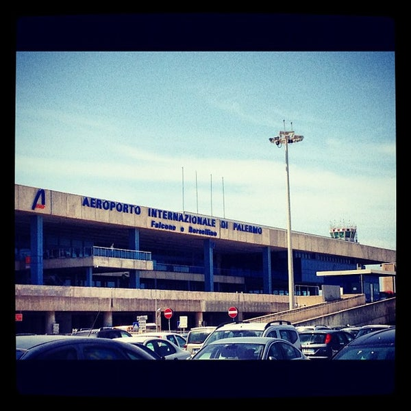 Photo taken at Palermo Airport (PMO) by Luis F. on 5/19/2012