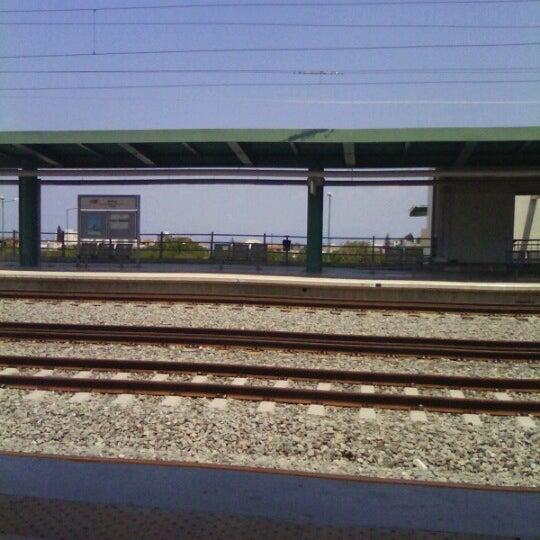 Photo taken at Σταθμός Προαστιακού Κιάτο (Kiato Suburban Rail Station) by Ηλίας Α. on 7/8/2012