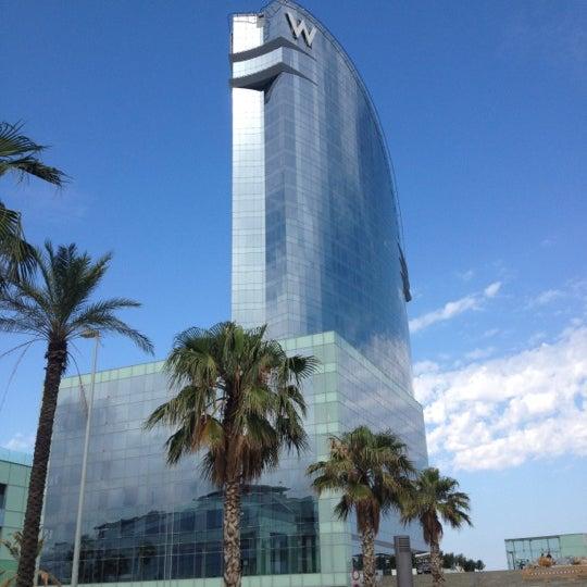 Photo taken at W Barcelona by Jordi T. on 7/5/2012
