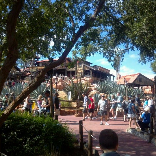 Photo taken at Frontierland by John W. on 10/22/2011