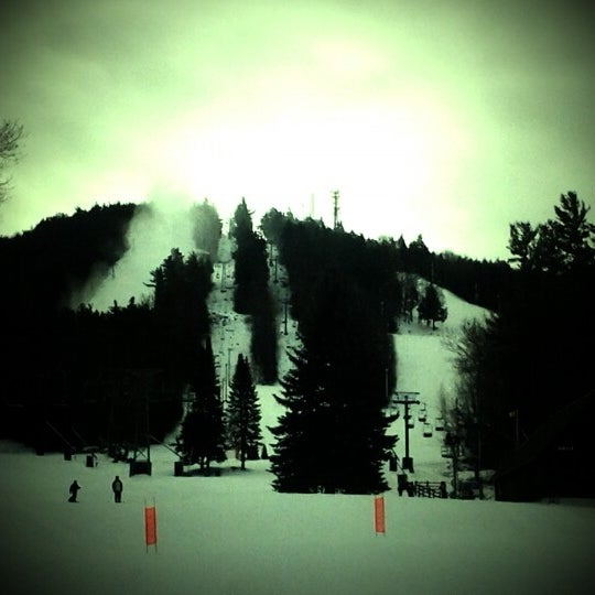 Photo taken at Pat's Peak Ski Area by Tony R. on 1/19/2012