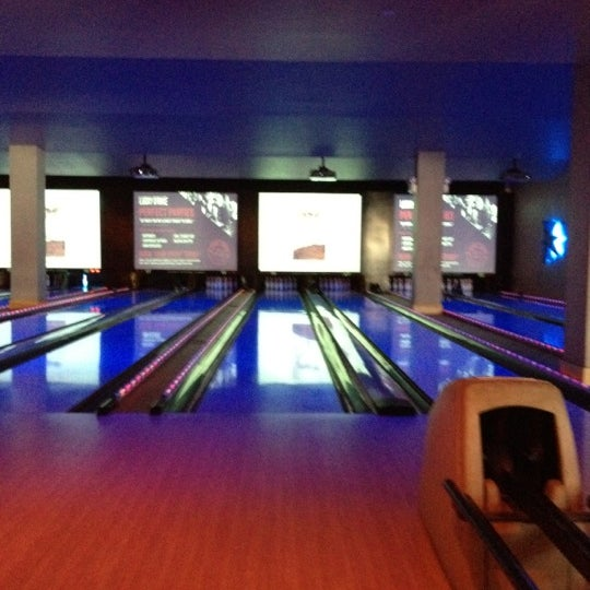 Photo taken at Lucky Strike New York by Brian S. on 8/21/2012
