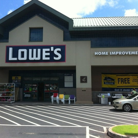 Lowe 39 S Home Improvement 94 805 Lumiaina Street