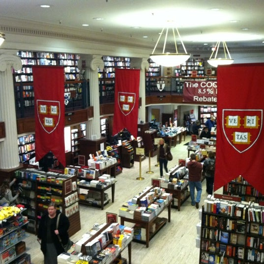 Photo taken at Harvard Coop Society Bookstore by Ethan M. on 2/17/2012