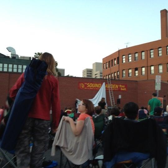 Photo taken at The Sound Garden by Liz M. on 8/22/2012