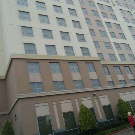 Photo taken at Sheraton Suites Houston Near The Galleria by Toneeka H. on 12/24/2011