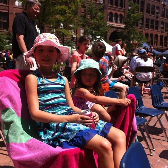 Photo taken at Printers Row Lit Fest by Dona N. on 6/10/2012