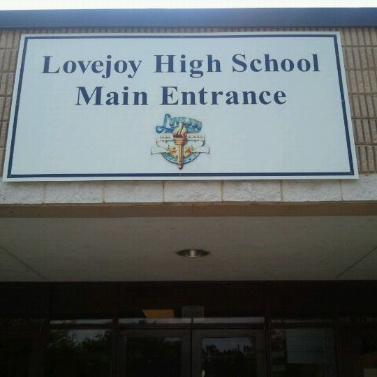 Photo taken at Lovejoy High School by Hasani H. on 9/27/2011