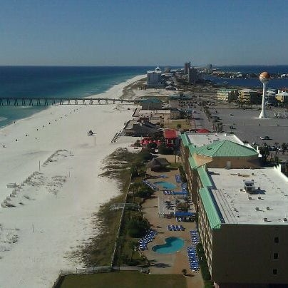 Photo taken at Hilton Pensacola Beach Gulf Front by Chanel C. on 12/18/2011