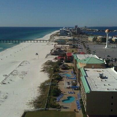 Photo taken at Hilton Pensacola Beach by Chanel C. on 12/18/2011
