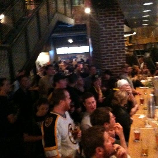Photo taken at Boston Beer Works by Sarah W. on 6/16/2011