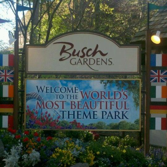 Photo taken at Busch Gardens Williamsburg by Michael L. F. on 4/7/2012