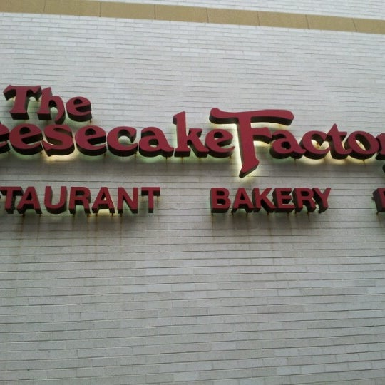 Photo taken at The Cheesecake Factory by Karin E. on 6/17/2012