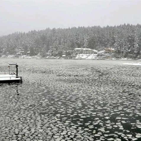 Photo taken at Gig Harbor Waterfront by Elise E. on 4/17/2012