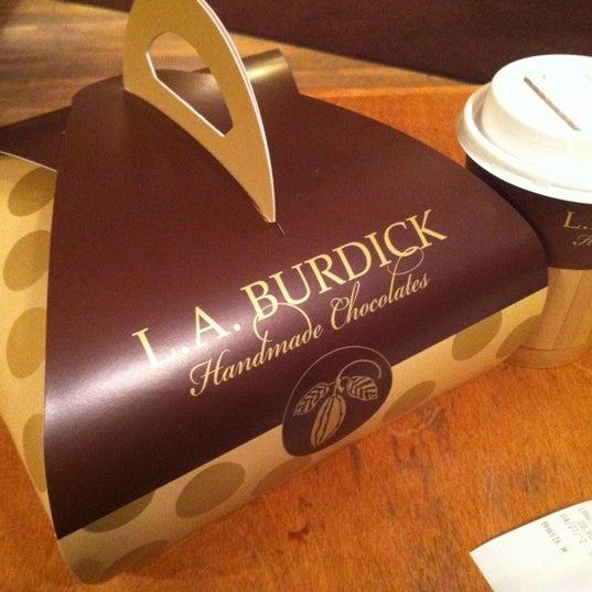 Photo taken at L.A. Burdick Chocolate by Jeffrey L. on 4/27/2012