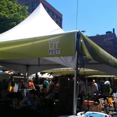 Photo taken at Printers Row Lit Fest by YerikaAkira S. on 6/9/2012